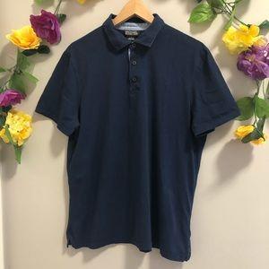 Michael Kors Navy Blue Polo Shirt 👕